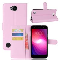 Différent New Arrival Luxury Leather Wallet Phone Flip Cover Housse pour LG X Power 2 (USA)