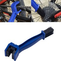 Wholesale Multi purpose Maintenance MotorcycleNew Bicycle Chain Crankset Cleaning Tool Outdoor Gear garbage Cleaner Brush Scrubber Tool