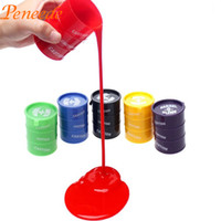 Vente en gros-Barrel-o-Slime Jouet Lizunov dans un pot Joke Gag Prank Gift Jouets pour enfants Funny Toys Pinata Fillers Magic Dust Keyboard Cleaning Slime