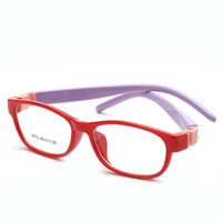 Wholesale Eyeglasses Frame Kids - LauraFairy Fashion Kids Children Boy Girls Optical Eyeglass Cartoon Cute Glasses Frame Brand Designer Light Weight Eyewear 8815