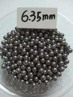 Wholesale Slingshot Steel Ball - Bearing steel ball G10 500 qty 6.35 mm Steel Shot Slingshot Ammo Balls