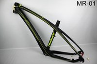 Wholesale Carbon Mtb Bike Frame Full - 2017 New MTB Bike Full carbon fiber bike frame Carbon mountain bicycle with frame+headset+clamp free shipping