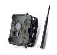 Wholesale Night Vision Camera 3g - NEW S880G 12MP HD 1080P Digital Hunting Camera 940NM Trail Game Camera 3G Network SMS MMS Night Vision 56pcs IR LED Ann