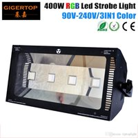 TIPTOP TP-P18RGB 4X100W RGB Stage Led Strobe Light 400W 100V-220V DJ KTV Xmas Party Strobe Light Flash Lighting Club Party Disco