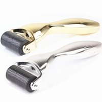 Wholesale Micro Treatment - Micro Needle Roller Meso Roller Therapy Skin Rejuvenation 1200 Needles Derma Roller for Face or Body Treatment System