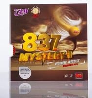 ingrosso la migliore gomma 729-La migliore 729 Friends Table Tennis Rubber 837 Mystery III Ping Pong in gomma con spugna