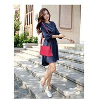 Wholesale Vintage Cross Body - Wholesale-Vintage Women Handbags Fashion Shell Bags Small Leather Bag Casual Women's Cross-body Shoulder Bags Designer Women Messenger