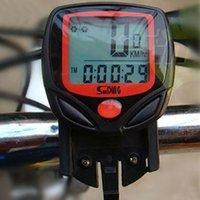 Wholesale Car Stopwatch - Wireless bike computer speedometer Race car odometer rain bike mountain bike computer measurable temperature stopwatch mountain racing