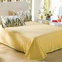 Wholesale Super King Flat Sheets - Wholesale-Super King sheet set 265*245cm flat sheet 100% cotton bedding set with 2pillowcase bedspread bed cover bedclothes bed sets home