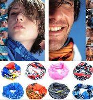 casquettes vélo achat en gros de-DHL gratuit Vélo biker bandanas sans soudure bandanas washouts Masque d'équitation vélo cycling foulard casquette pour hommes Vélo Vélo Magic Sport Bandeau