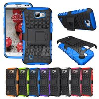 For Samsung black rubber edging - For iPhone S Plus Samsung S7 S6 Edge Case Armor Case Robot Kickstand Heavy Duty Impact Rubber Rugged Cases