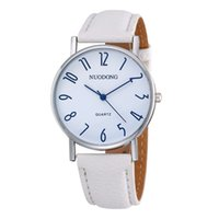 Wholesale Watch Wholesalers China - New 2017 simple fashion mens men leather watch sport silver dial casual students wrist quartz watches wholesale china wristwatch