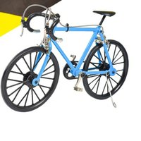 Wholesale Bicycles For Children - Mountain Bike Diecast Model Straight Sports Handlecar Shock Absorbers 1:6 for Children Toys