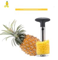 Wholesale kitchen tools wholesale for sale - Creative Stainless Steel Fruit Pineapple Corer Pineapple Slicers Kitchen Tools Pineapple Peeler Parer Knife DHL FREE