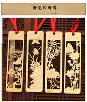 Wholesale Wholesale Gift Packaged Bookmarks - New Cute Kawaii Beautiful Chinese Style Vintage Exquisite Metal Bookmark for Book Creative Item Gift Package Free shipping