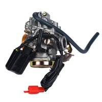 Wholesale Gy6 Scooter Carburetor - New 49cc 50cc GY6 ATV Moped Scooter Carburetor Carb For Sunl Roketa JCL