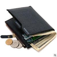 Wholesale gentleman photo - HOT NEW Man Portable PU Wallets Gentleman Short Zipper Purse Wallet Bussiness Man Luxury Multi-function Wallets Card Holders