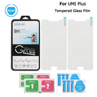 Wholesale Wholesale Replacement Mobile Phone Screens - Wholesale- UMI Plus E Tempered Glass Film Screen Protector Ultrra Thin Steel Films Replacement For UMI Plus Mobile Phone Accessories
