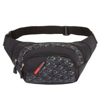 Wholesale Casual Money Belt - High Quality Waist Pack For Men Women Casual Functional Fanny Pack Bum Chest Bag Hip Money Belt Travelling Mobile Phone Bag