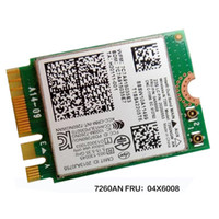 Wholesale n express - Wholesale- Intel Dual Band Wireless-N 7260NGW 2*2 11agn+BT4.0 M.2 Combo card For Lenovo Thankpad T440 T440P T440S ,FRU 04X6008 20200553