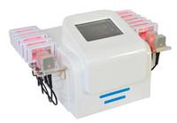lipo laser 16 almofadas venda por atacado-100mw 16 pads a laser! máquina do laser do lipo do cellulitereduction do emagrecimento do lipolaser