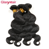 Glary Hair Products Articles les plus vendus Non transformés Cheap Mongolian Body Wave Virgin Hair Bundles 4 pièces par lot Livraison gratuite