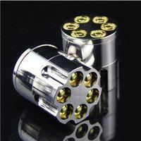 Wholesale bullets accessories for sale - Metal Bullet Shape Teeth Herb Crusher Cigar Tobacco Grinder Smoking Grinder Accessory Hand Muller Gift
