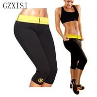 Wholesale hot pants panties - Wholesale- With Original Logo Hot Shapers Pants 2015 Super Stretch Neoprene Slimming Pants Body Shapers Corset Body Plus Size S-XXXL