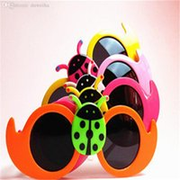 Wholesale Yuxi Fashion - HOT SALE-2016 YUXI New Fashion Insect Summer Style Metal Glasses Boys And Girls Children's Vintage Sunglasses Star Outdoor Goggles
