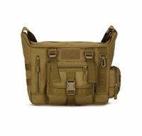 Wholesale Cp Camouflage - Outdoors Military Tactics Bag ACU CP Camouflage Army Black Men Bag Camp Mountaineer Travel Duffel Messenger Bag