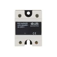 module de relais unique achat en gros de-Module statique de passage à zéro TRICA SSR du relais RS1A40D25 du relais statique à semi-conducteurs LDG