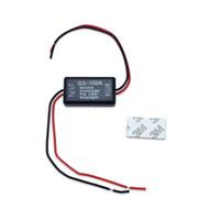 мигающий светодиодный тормоз оптовых-Вспышка строб контроллер мигалка модуль для LED стоп-сигнал тормоз хвост стоп-сигнал 12-16 в GS-100A