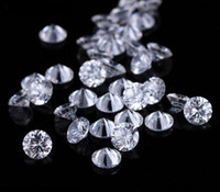 Wholesale Brilliant Necklace - 1000pcs Lot 0.8mm-4mm cubic zirconia CZ brilliant Cut rounds loose gemstone DIY for jewelry Inlaid necklace ring earrings Free Shipment