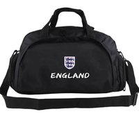 Wholesale Uk Backpack Bags - England duffel bag Cheer celebrate champion tote UK emblem logo backpack Football luggage Sport shoulder case Outdoor sling handbag