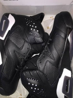 Mid Cut black cat d - hot sale new Retro VI Black cat Basketball Shoes s Sports Sneakers mens shoe With Box