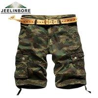 Wholesale fit cargo shorts - Wholesale-Men'S Camouflage Cargo Shorts Relaxed Fit Camo Cargo Shorts Short