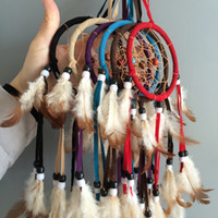 "Wholesale hanging dream catcher - 3.5"" Ring Small dream catcher hanging decoration christmas decor"