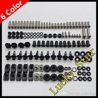 Wholesale 1992 Gsxr - 100% For SUZUKI GSXR600 GSXR750 GSXR 600 750 GSX R600 R750 1992 1993 1994 1995 92 93 94 95 Body Fairing Bolt Screw Fastener Fixation Kit