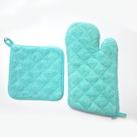 Wholesale Greater For Kitchen - Gloves - Oven Mitt Set, Machine Washable, Heat Resistant, Everyday Kitchen Basic,Great choice for holiday, birthday and perfect host & ho