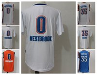 Wholesale Bruins Throwback - 35 Kevin Durant 0 Russell Westbrook Jersey Shirt UCLA Bruins Russell Westbrook College Uniforms Throwback Christmas