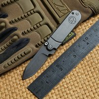 Wholesale Mini Utility Knives - Bean mini Tactical Pocket Folding Knife 440 Stainless steel Utility Bearing Survival Knives Outdoor gear Camping Hunting EDC Multi Tools
