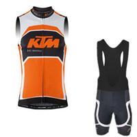 09b85eb32 Sleeveless Breathable Men KTM Pro Team Men Sleeveless Cycling Jersey 2017  Bicycle Bike Cycle Clothing MTB