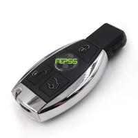 télécommande pour mercedes achat en gros de-Entrée Keyless de haute qualité OEM Smart 3 boutons clés à distance avec infrarouge pour Mercedes Benz 433Mhz 2006-2010