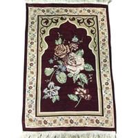 preço do tapete venda por atacado-Engrossar o Tapete de Oração Muçulmano Tapis Tapete de Cozinha Tapete Banheiro Islâmico Praying Tapete Tapete A Granel Preço