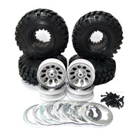 black beadlock wheels - RC Car Rock Crawler Tires quot Wheel Rim Beadlock D90 SCX10