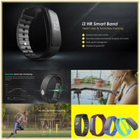 Wholesale Mobile Heart Rate Monitor - I3HR Smart Bracelet Bluetooth Wristband Heart Rate Monitoring Remote Control Self-Timer Movement Step Mobile Phone Anti-Lost Smart Bracelet