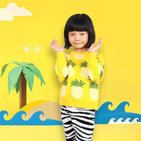 Wholesale Baby Knit Sweater Pattern - Autumn Winter Fashion Cardigan Kids Clothes Pineapple Patterns Sweater Children Long Sleeve Knitting Baby Boy Girl Sweaters Toddler Clothing