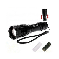 Wholesale Ultrafire Holder - UltraFire Flashlight CREE XM-L T6 2000Lm 5 Mode LED CREE Flashlight+18650 Battery+18650 Casing+AAA Battery Holder+Charger Zoomable Torch