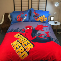 3D Printed spider man comforter - 3D Spider man Bedding Sets Comforter Minions Bedding Set Twin Queen King Size Printed Bedspread Sheets Duvet Cover Bedsheet Home Texile