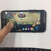 ingrosso compressa moq-2017 Nuovo iPad Iphone Gioco mobile Joystick Gioco per cellulare Rocker Touch Screen Joypad Tablet Divertente gioco Controller MOQ: 25PCS